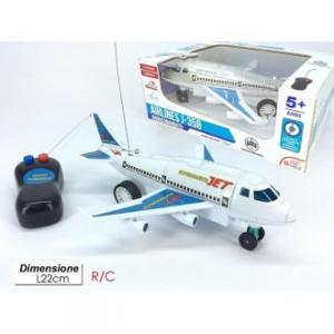 General Trade Giocattolo per Bambini Aereo Supersonico con Luce