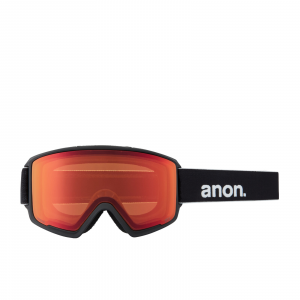 Maschera Snowboard Anon M3 MFI Red Burst