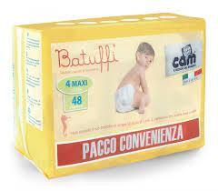 PANNOLINI TG 4 BATUFFI 8/18 KG TRIPACK