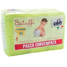 PANNOLINI TG 6 BATUFFI 16/30KG TRIPACK