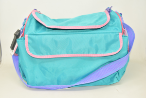 Shoulder Strap Bag Children Green Water Pink And Lilac 40x30x20 Cm M