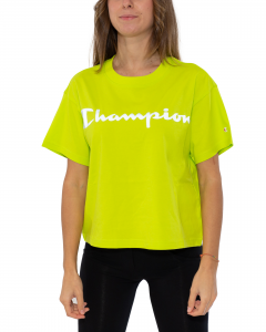 CHAMPION T-SHIRT LOGO LIME