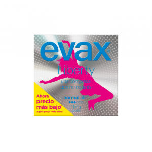 Evax Liberty Normal With Wings Sanitary Towels 12 Units