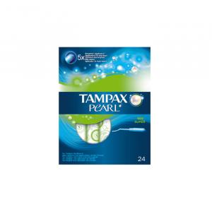 Tampax Pearl Súper 24 Unità