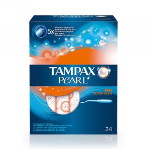 Tampax Pearl Superplus 24 Unità