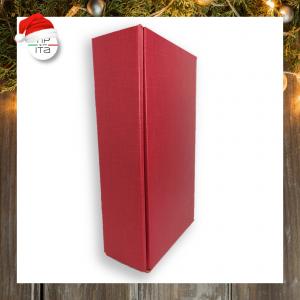 Scatola doppia Rossa per set regalo  - h10x21x34cm
