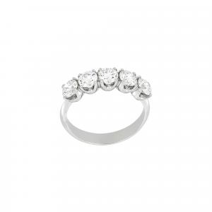 Anello Fedina Diamanti ct.0,20