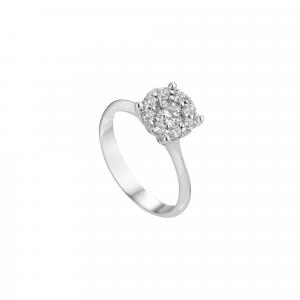 Anello Diamanti ct.0,18
