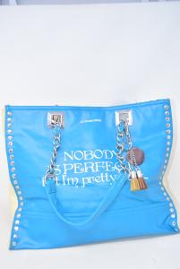 Bag Pandorine Light Blue Nobody Is Perfect.. But Im Pretty Close