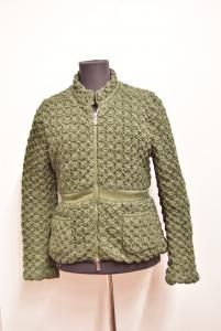 Jacket Woman Pinko Green Size.44