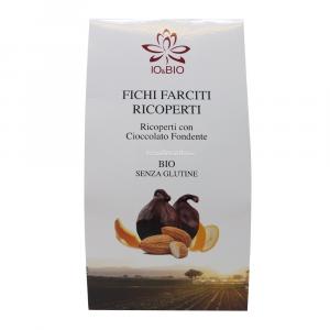 Fichi ricoperti di cioccolato fondente Io & bio