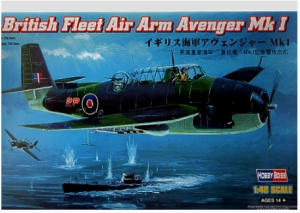 British Fleet Air Arm Avenger Mk I