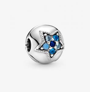 Clip Stella blu luminosa