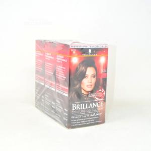 Testanera Brillance 874 Brown Velvety - Dyes Hair 3 Pieces