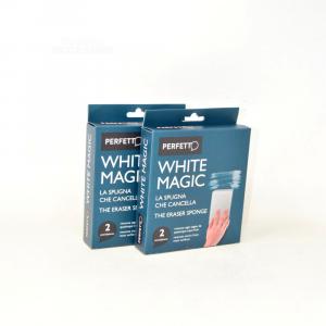 Blister 4 Spugne Cancella-macchie Whitemagic