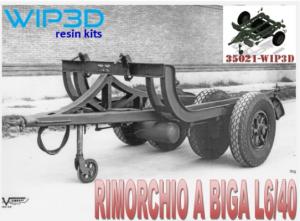 RIMORCHIO A BIGA L6/40