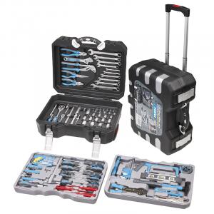 Fervi 0165 Valigetta con utensili ed accessori - 175 pezzi