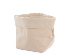 Sacchetto multiuso bianco ecru cm12 tessuto