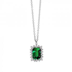 Collana girocollo con Smeraldo