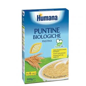 Humana Puntine Biologiche Pastina 320 G