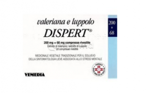 Valeriana Luppolo Dispert 20 Compresse