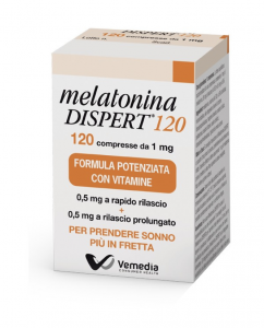 Melatonina Dispert 1mg 120 Compresse