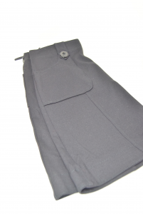 Skirt Woman Marella Sport Black With Buttons Size.m