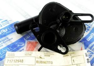 RUBINETTO RISCALDAMENTO FIAT FIORINO, QUBO, ORIGINALE,