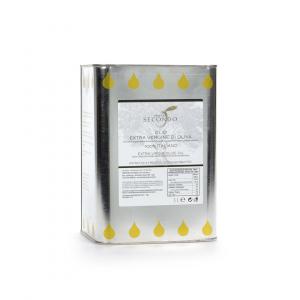 Latta da 3 litri di olio extra vergine di oliva 100% italiano