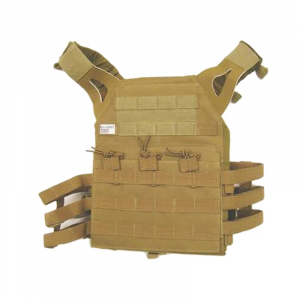 plate carrier tan