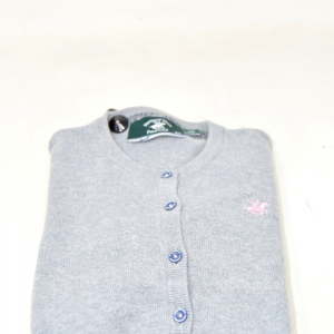 Cardigan Baby Girl Beverly Hills 8 - 9 Years Gray (mixed Cotton Cashmere)