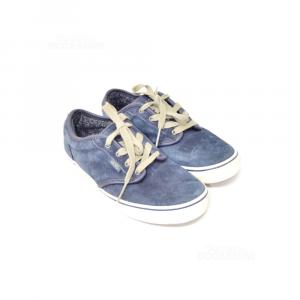 Shoes Vans Boy Invernali Blue N°.36