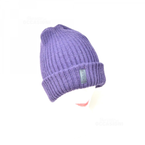 Cap Invernale Paul Smith Accessories 100% Wool Purple Dark