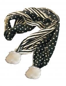 Sciarpa lunga in cotone
