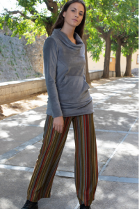 747-289 PANTALON STRAIGHT STRIPES