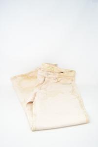 Pants Woman Alviero Martini Voyages Beige Size.30