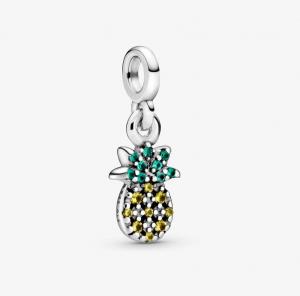 Mini charm pendente La Mia Ananas