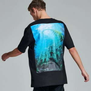 T-Shirt Dolly Noire Underwater Milano Black