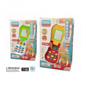General Trade Il Mio Primo Telefonino Colorato Bambini e Neonati, con Pulsanti Luci e Suoni
