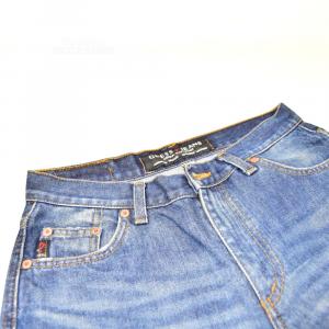 Jeans Donna Guess Tg 28 Gamba Larga