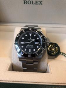Orologio mai inossato Rolex Submariner