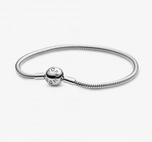 Bracciale Moments – Maglia snake con chiusura a sfera – 18
