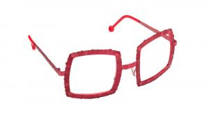 Occhiali da sole Velùdo colore rosso