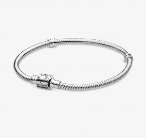 Bracciale Moments – Maglia snake chiusura a barile  – 20