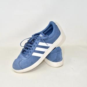 Shoes Man Adidas Light Blue N°.44