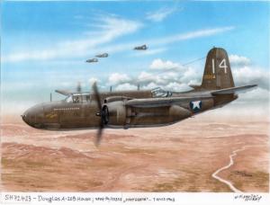 A-20B/C Havoc/Boston 'Gunships'