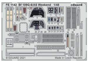 Me-109G-6/AS Weekend