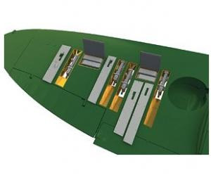 Spitfire Mk.IIa Gun Bays