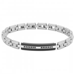 bracciale uomo Comete gioielli collezione Zip ubr982