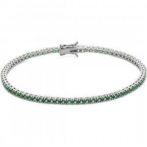 bracciale in argento unisex comete gioielli collezione tennis ubr996m18